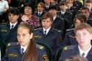 Торжественное мероприятие по случаю открытия милицейских классов